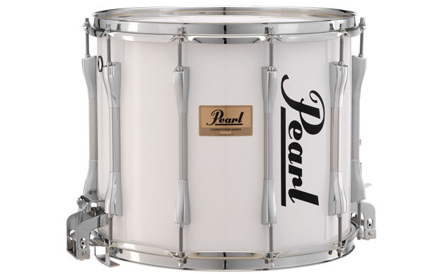 Pearl CMS1311/C033 13x11 Competitor Marching Snare Drum (Pure White)