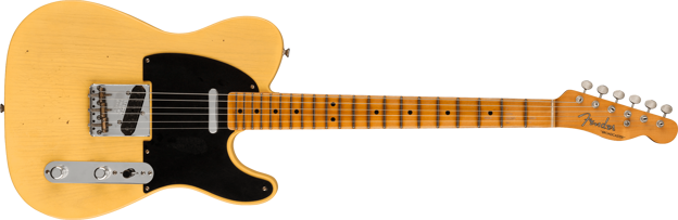 Fender Custom Shop Limited Edition 70th Anniversary Broadcaster®, Journeyman Relic®, Nocaster® Blonde