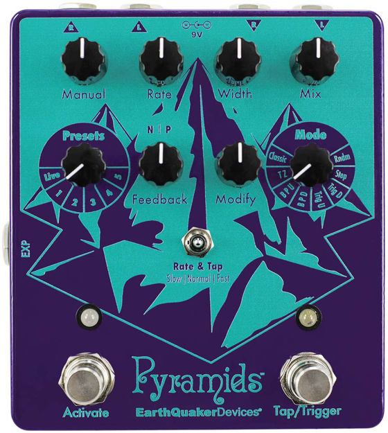EarthQuaker Devices - Pyramids - Stereo Flanging Device