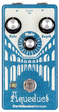 EarthQuaker Devices - Aqueduct - True-pitch Vibrato pedal