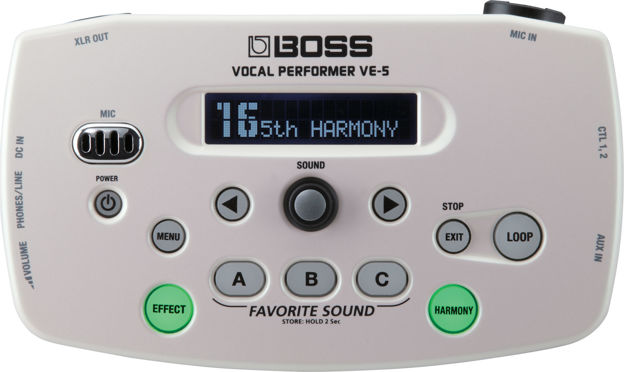 Boss VE-5-WH VOCAL PERFORMER