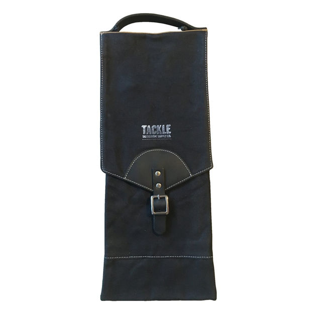 Tackle Waxed Canvas Compact Stick Case Black