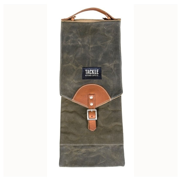 Tackle Waxed Canvas Compact Stick Case Forest Green