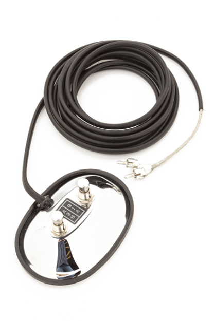Fender 2-Button Vintage-Style Footswitch (RCA Jacks)