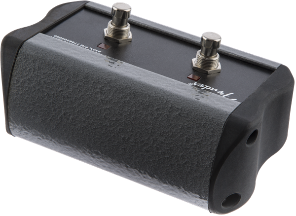 Fender 2-Button Footswitch: Channel-Reverb Acoustic Pro/SFX®