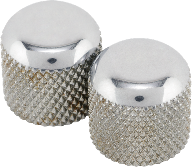 Fender Road Worn Telecaster® Dome Knobs (2)