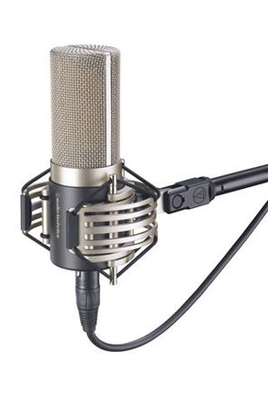 Audio-Technica AT-5040 Mikrofon Kondensator Nyre Vokal Studio m/AT8480 shockmount