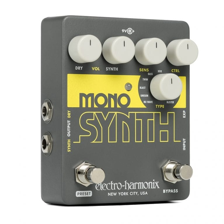 Electro-Harmonix MONO SYNTH Guitar Monophonic Synthesizer, 9.6DC-200 PSU included