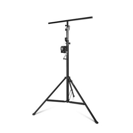 Adam Hall Stands SWU 400 T - Wind up stand with T-Bar black | pris pr stk