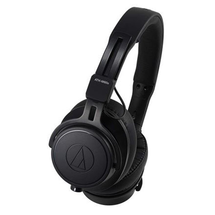 Audio-Technica ATH-M60x Hodetelefon Studio Monitor m/3 kabler, Sort