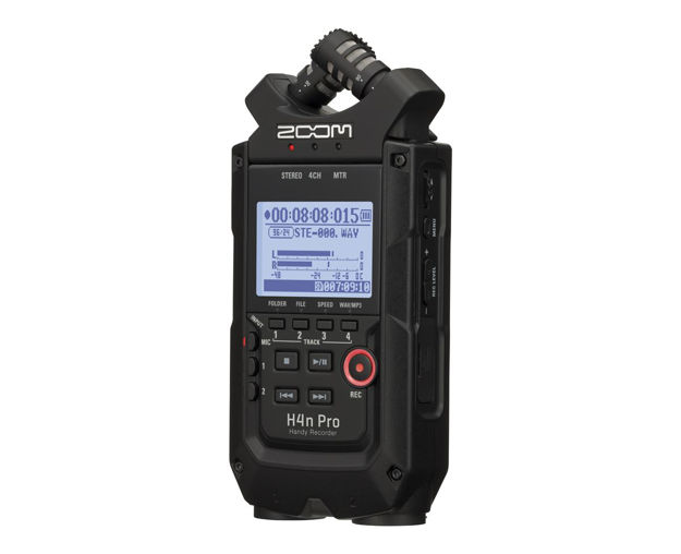 Zoom H4nPro Handy 4-Channel Recorder Black Edition