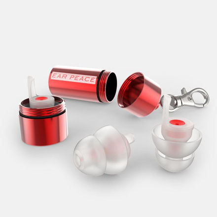 EARPEACE HDRW1 EARPLUGS RED/12