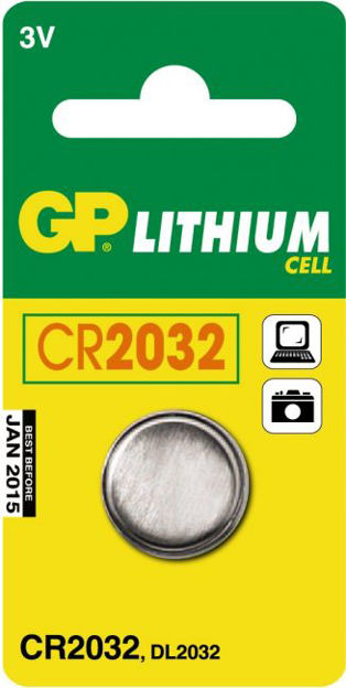 GP Batteries GP CR 2032-C1 - 1 pack - Blister CR2032
