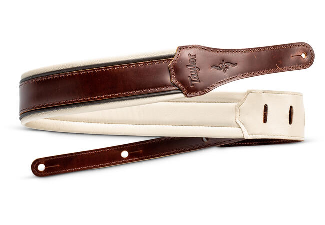 """TaylorWare 4105-25 Taylor Renaissance Strap, Med Brown, Leather, 2.5"""""""