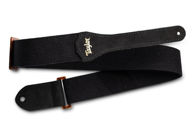 TaylorWare 4002-20 Taylor GS Mini Strap, Black Cotton, 2""