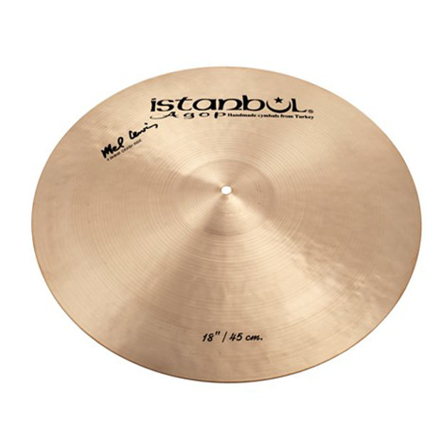 "Istanbul Agop ML19 19"" Mel Lewis Signature Crash Ride"