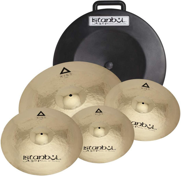 """Istanbul Agop IXPWS4 Xist Power Cymbal Set + Deluxe Bag (14""""/16""""/20""""+18"""")"""