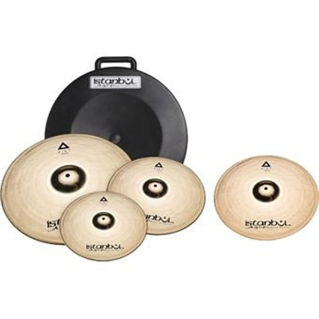 "Istanbul Agop IXS4 Xist Cymbal Set + Deluxe Bag (14""/16""/20""+18"")"