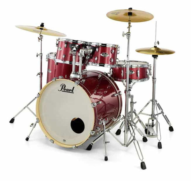 Pearl EXL725SP/C246 EXL 5-PCS SHELL PACK - Natural Cherry Laquer