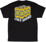Charvel 6 Pack of Sound T-Shirt, Black, L