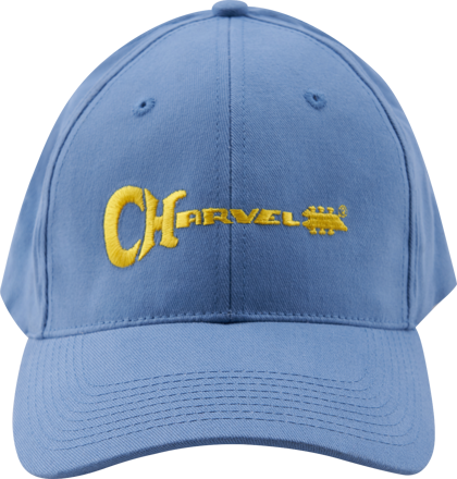 Charvel Charvel® 3D Logo Hat, Blue and Yellow