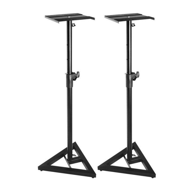Supreme SMS-69 PAIR   FLOOR MONITOR STAND   BLACK