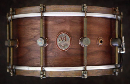A&F 7x14 Whisky Club Snare, Brass Hoop