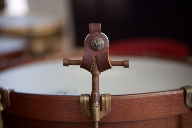 A&F Raw Drum Key w/Leather Holster