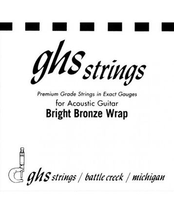 GHS BB26 | ACOUSTIC BRIGHT BRONZE SINGLE