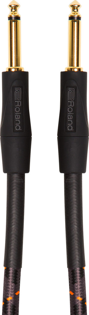 """Roland RIC-G10 10FT / 3M INSTRUMENT CABLE, STRAIGHT/STRAIGHT 1/4"""" JACK"""