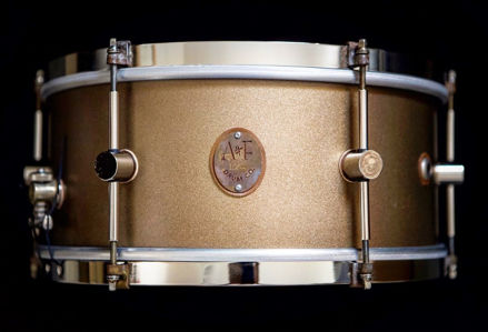 A&F 8x14 Deco Maple Club Snare, Brass Hoop