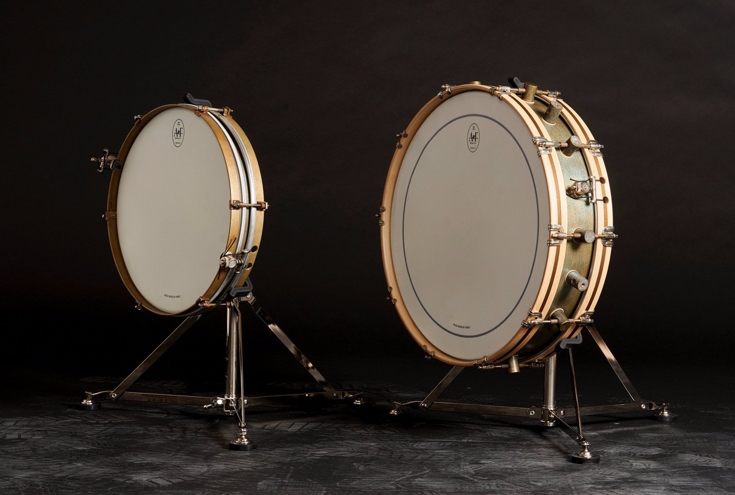 A&F 4x18 Gun Shot Snare with Stand