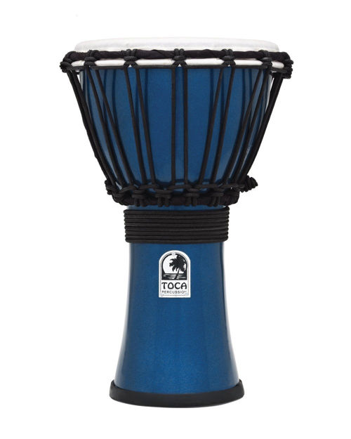 Toca Djembe Freestyle Colorsound Metallic Blue - TFCDJ-7MB