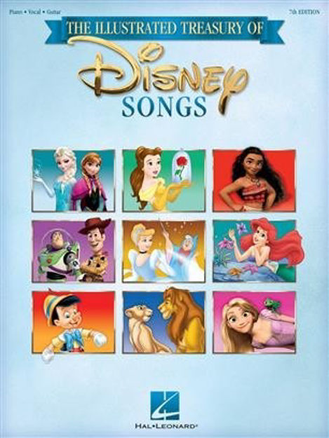 The Illustrated Treasury of Disney Songs - 7th Ed. PVG