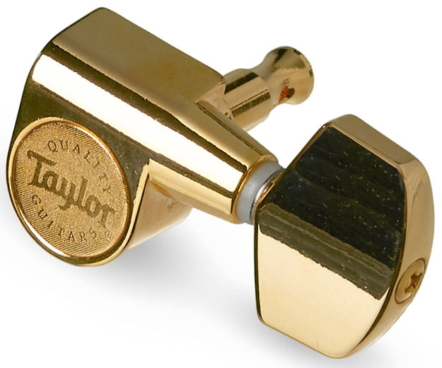 TaylorWare  Taylor Guitar Tuners 1:18 - 6-String, Polished Gold