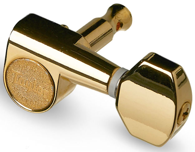 TaylorWare  Taylor Guitar Tuners 1:18 - 12-String, Polished Gold