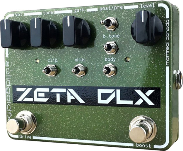 SolidGoldFX - Zeta DLX  - Deluxe Guitar Preamp / Overdrive / Boost