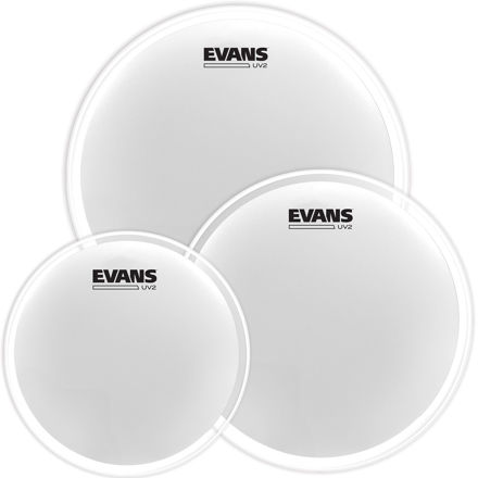 """Evans UV2 Coated Tom Pack - Fusion (10"""", 12"""", 14"""")"""