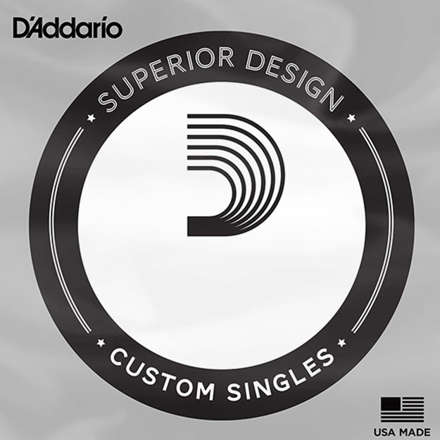 D'Addario PSB125 ProSteels Bass Guitar Single String, Long Scale, .125