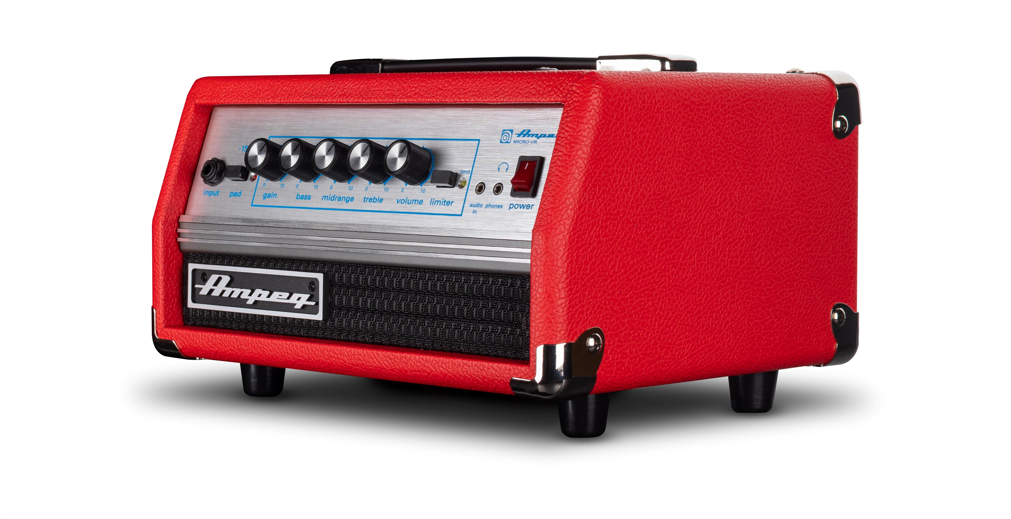 Ampeg Micro VR Head RED Limited Edition