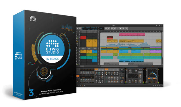 Bitwig Studio 16-Track: Upgrade from 8-Track Download