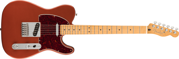 Fender Player Plus Telecaster, Maple Fingerboard, Aged Candy Apple Red
