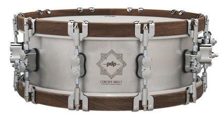 PDP by DW Snare Drum Concept Select  - Seamless Aluminum