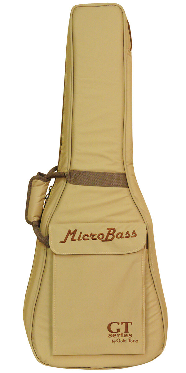 """Gold Tone Me-Bass 23"""" Scale Solid Body Microbass For Left Hand Players"""