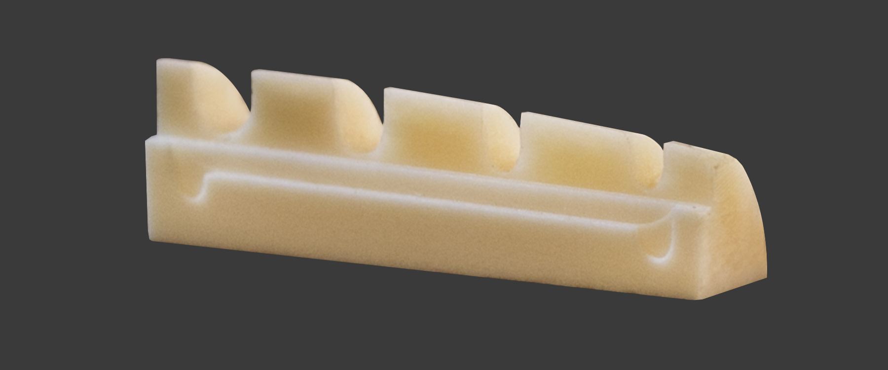 Zero Glide Microbass Replacement Nut- Slotted