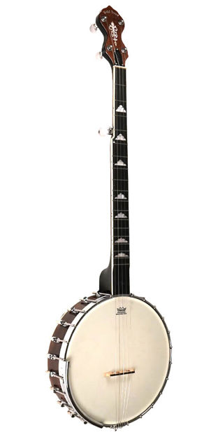 Gold Tone Wl-250 White Ladye Professional Openback Banjo For Left Handed Players