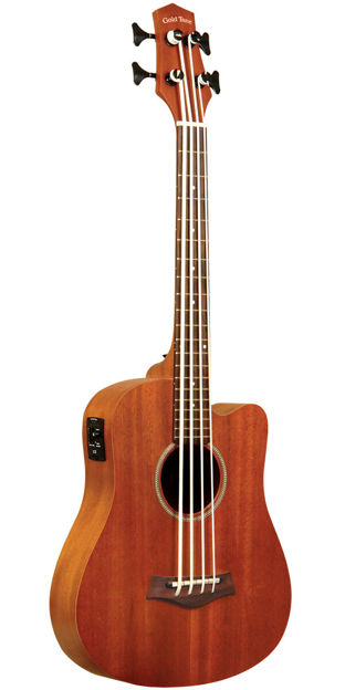 """Gold Tone M-Bass 23"""" Scale Microbass For Left Hand Players"""