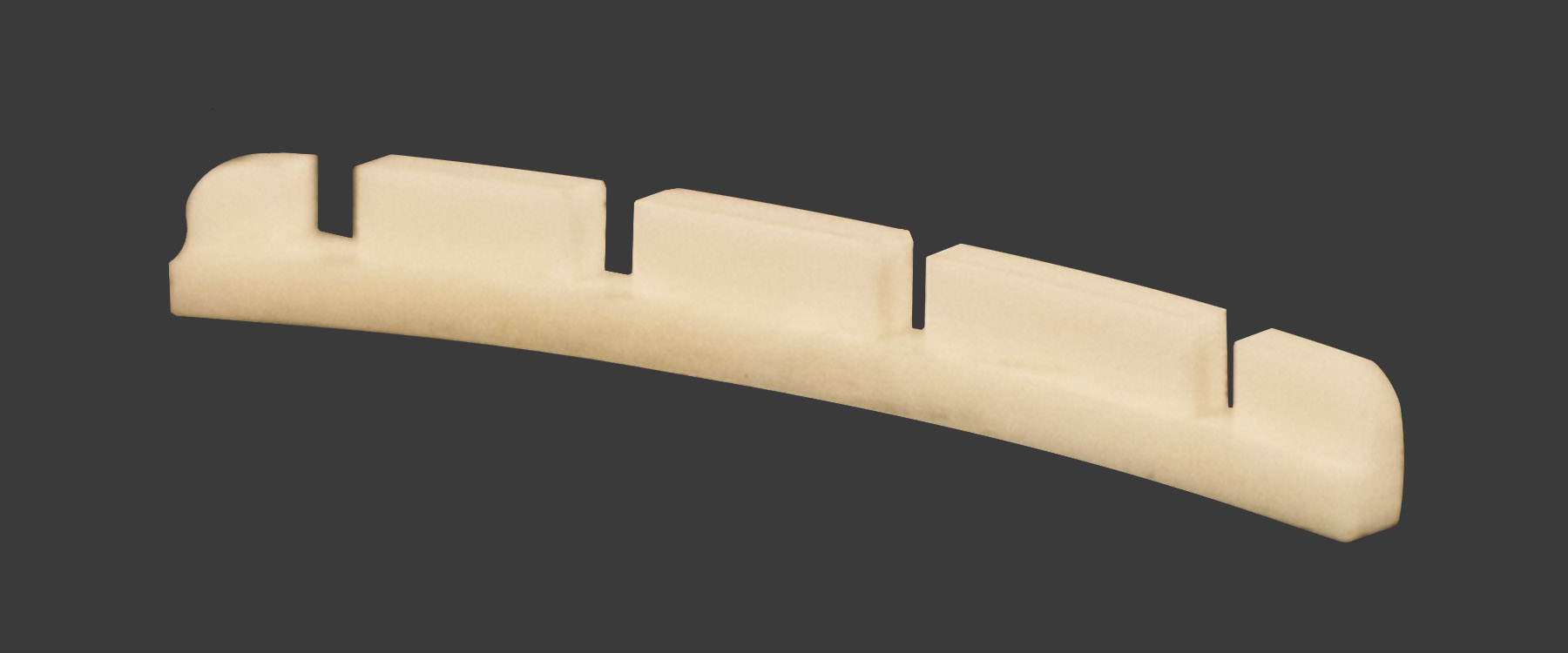 Zero Glide Fender®-Style Bass Replacement Nut- Slotted