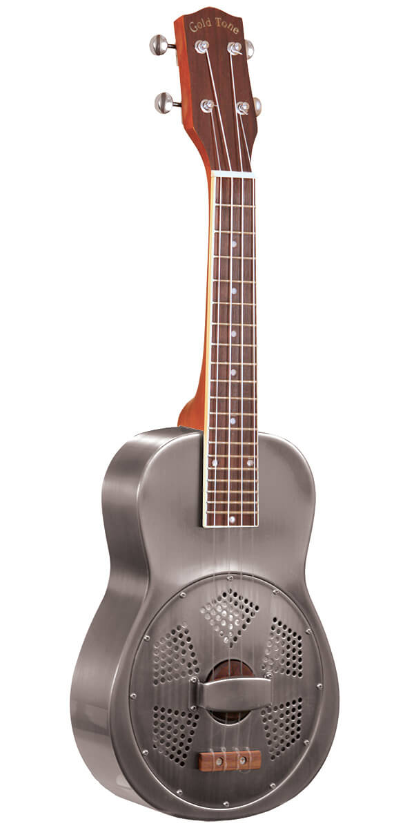 Gold Tone Resonator Concert-Scale Ukulele For Left Handed Players