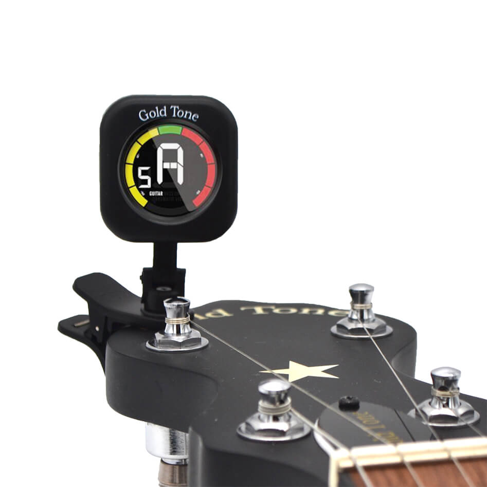 Gold Tone Clip-On Instrument Tuner
